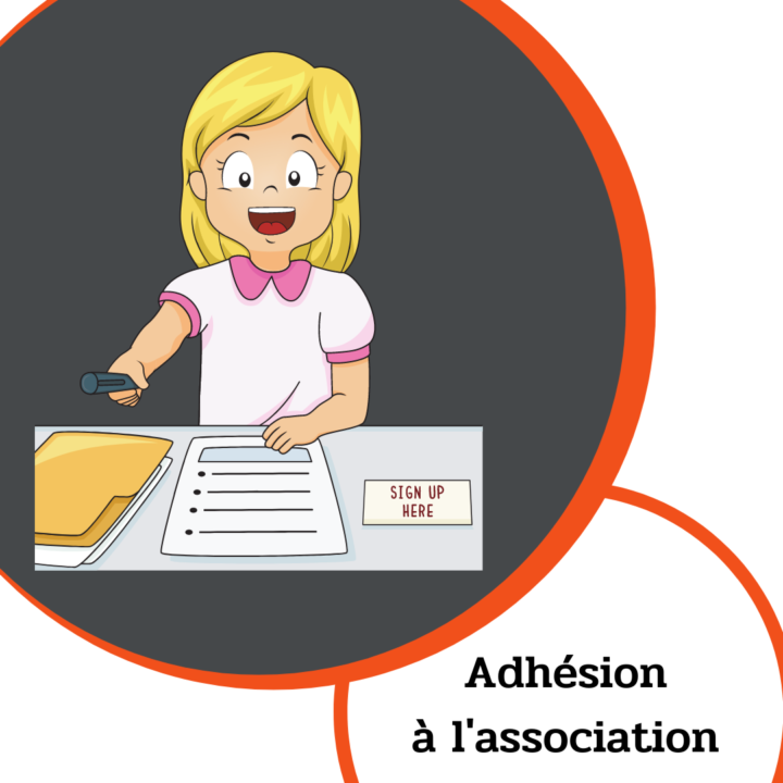 Adhésion à l'association